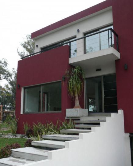 colores de fachadas de casas modernas