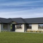 Casas techos cuatro aguas