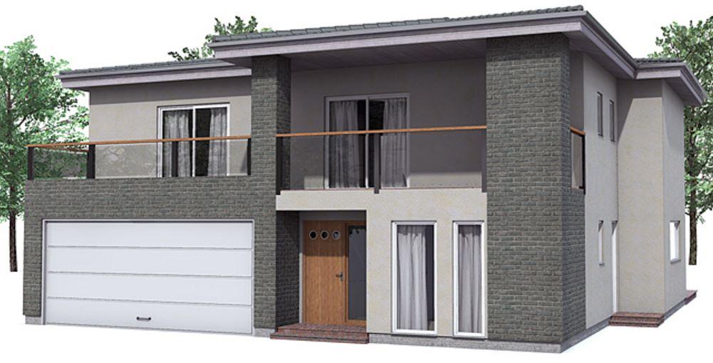 Fachadas con balcones modernos