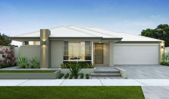 Frentes de casas con techos a 4 aguas - Distribuciones de casas modernas ...