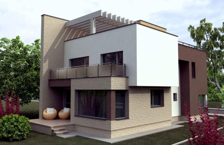 Modelos de casas de tres pisos por dentro y por fuera