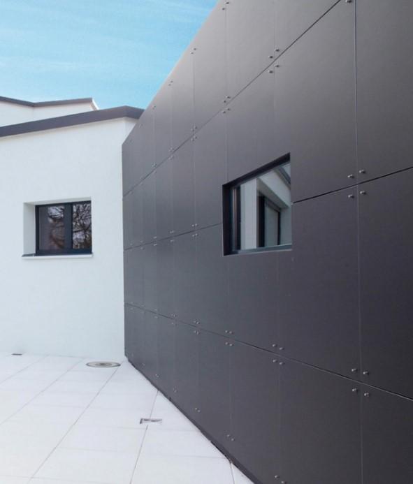 Acabados para fachadas exteriores - Materiales para fachadas exteriores ...
