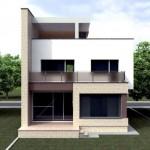 Modelos de fachadas para casas de 3 pisos