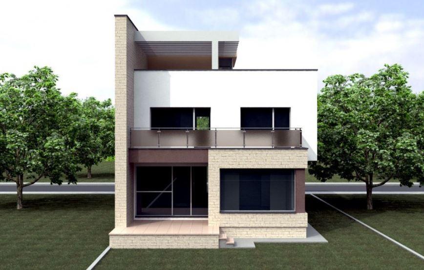 Fachadas de casas de 3 pisos for Casa moderna por fuera