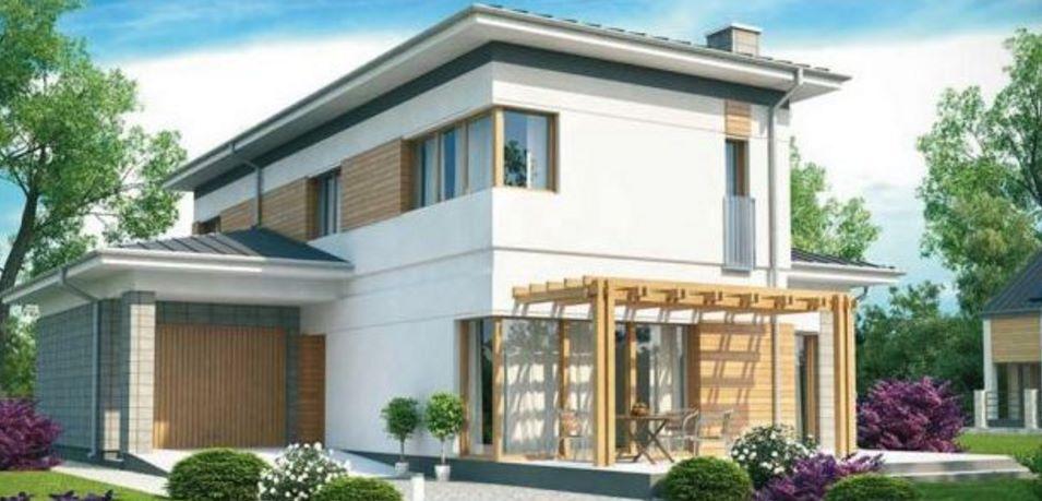 Ver fachadas de casas de 2 niveles