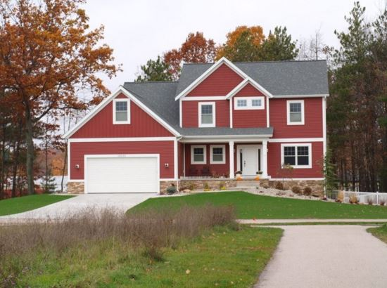 Colores de fachadas de casas modernas for Ideas para pintar el exterior de mi casa