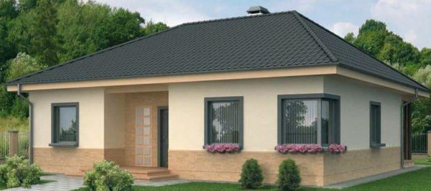 Fachadas de casas con techos de tejas for Fachada tradicional