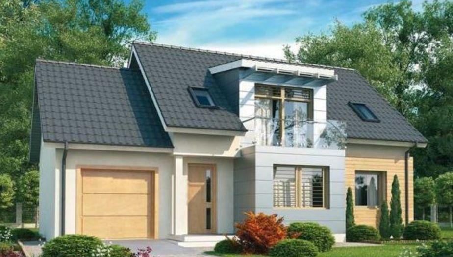 Fachadas con balcon de cristal for Fachada de casas modernas con balcon