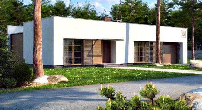 Fachadas de casas de una planta sencillas y bonitas for Fachadas de casas de una sola planta