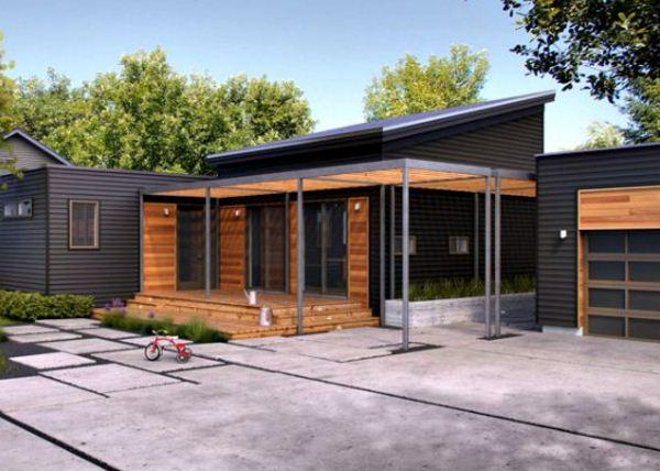 Fachadas de casas de una planta sencillas y bonitas - Casas de una planta ...
