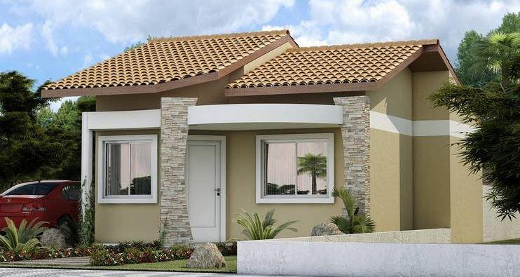 fachadas de casas modernas de un solo piso