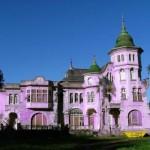 Fachadas de casas lilas
