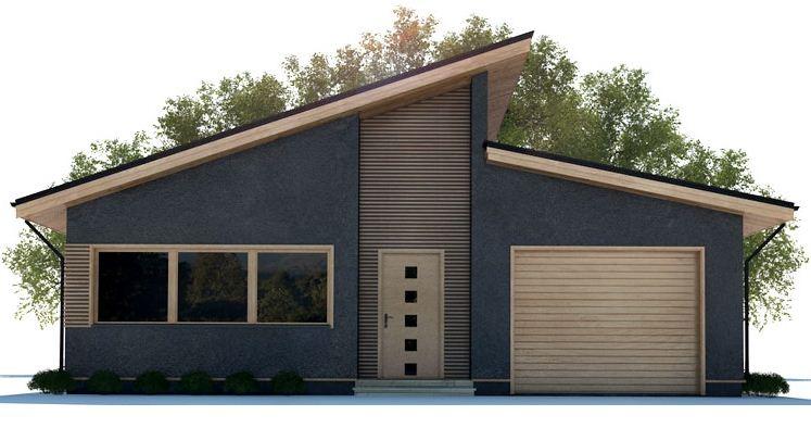 Fachadas en tonos azules for Frentes de casas pintadas