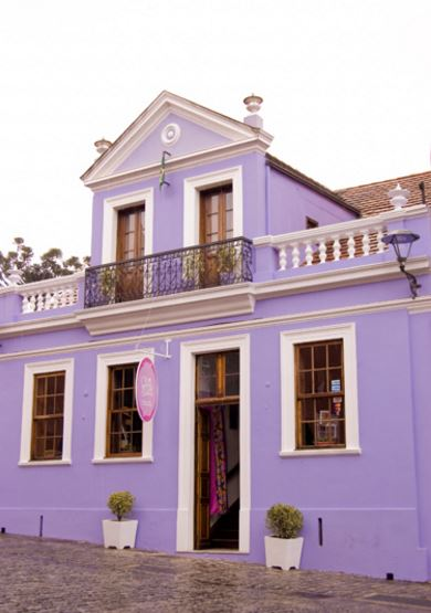 fachadas lilas