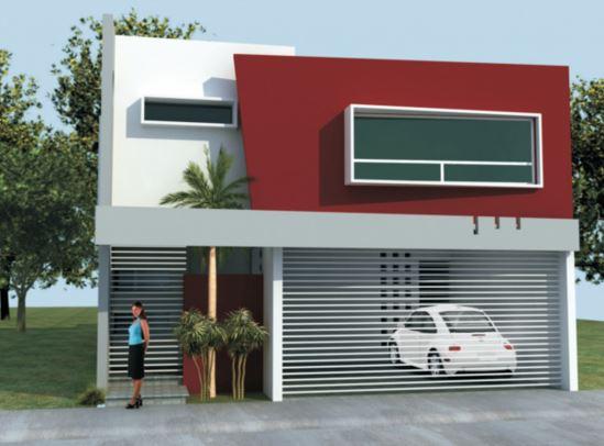 Colores de fachadas de casas modernas - Fachadas de casas pintadas ...