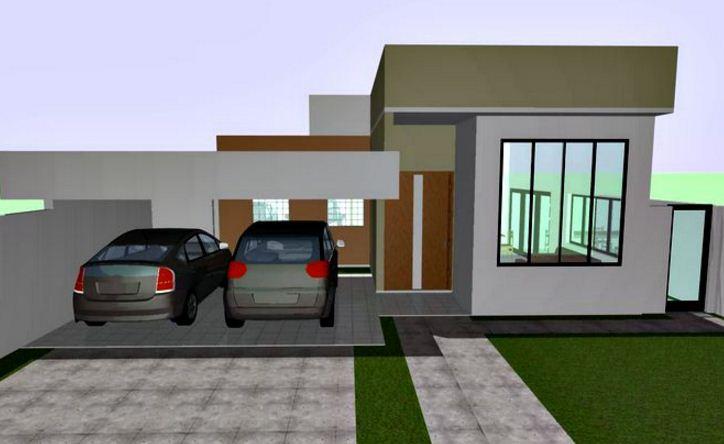 fachadas sencillas para casas de barrio