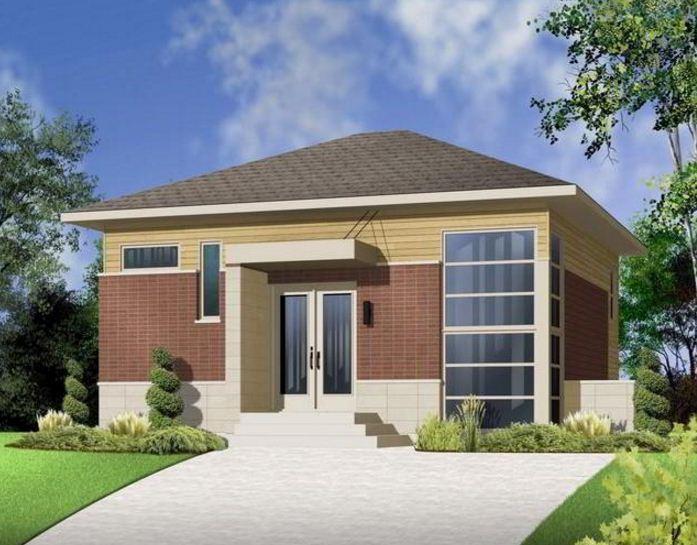Fachadas de casas de una planta sencillas y bonitas for Fachadas para casas pequenas de una planta