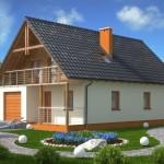 Fachadas de casas de dos pisos sencillas