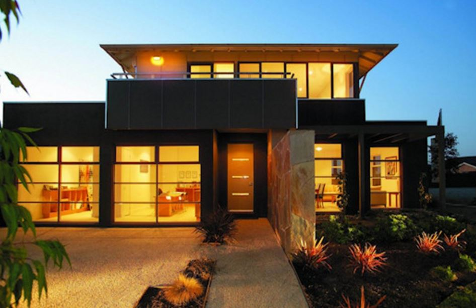 Fachadas de terrazas en segundo piso for Modelos de casas con terrazas modernas