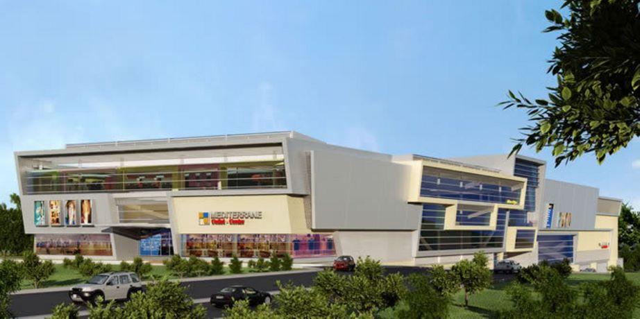 Fachadas de centro comercial