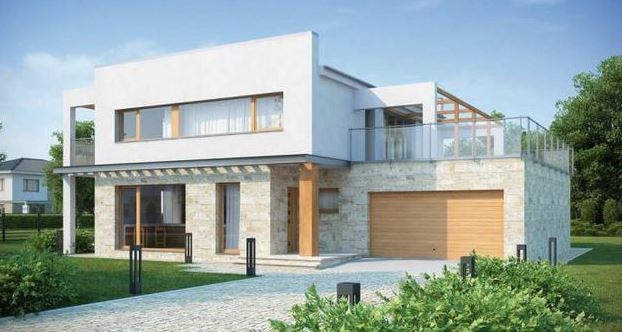 Casas con balcones related keywords casas con balcones for Terrazas modernas