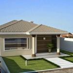Fachadas modernas de casas pequeñas