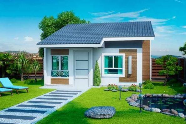 Fachadas modernas de casas peque as y bonitas ver for Casas pequenas y bonitas
