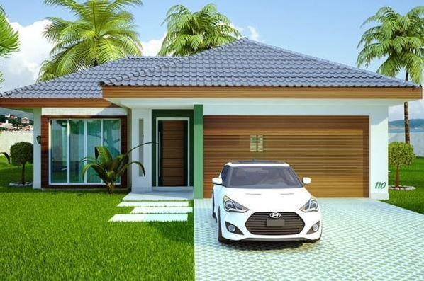 Imagenes de fachadas de casas modernas cn cochera