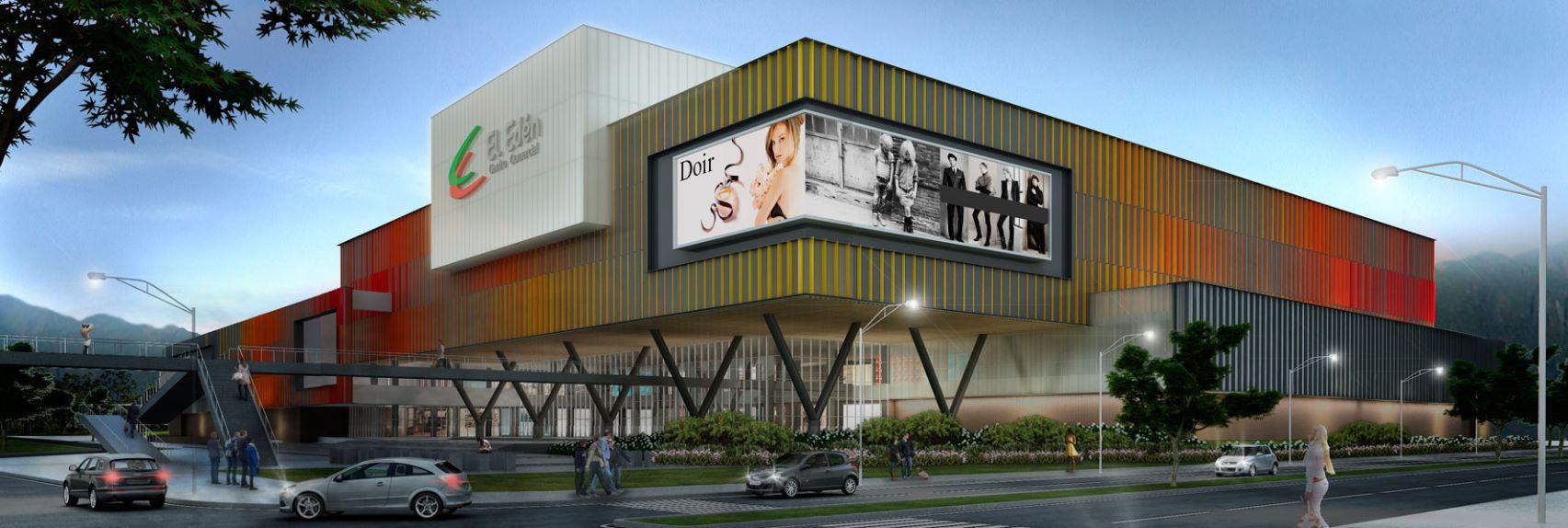 Ver fachadas minimalista de centro comercial