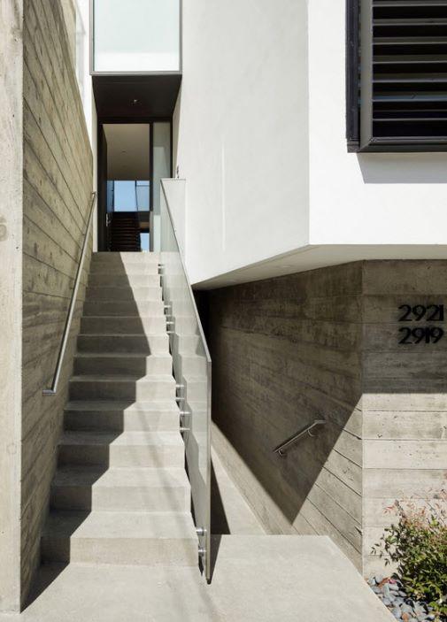 escalera para fachada