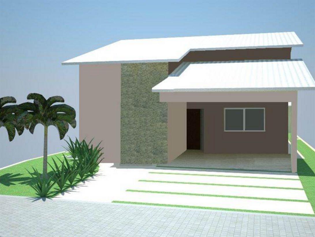 fachada bonita de vivienda sencilla gratis
