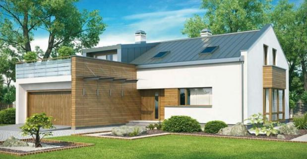 Fachadas de terrazas en segundo piso for Modelo de casa con terraza