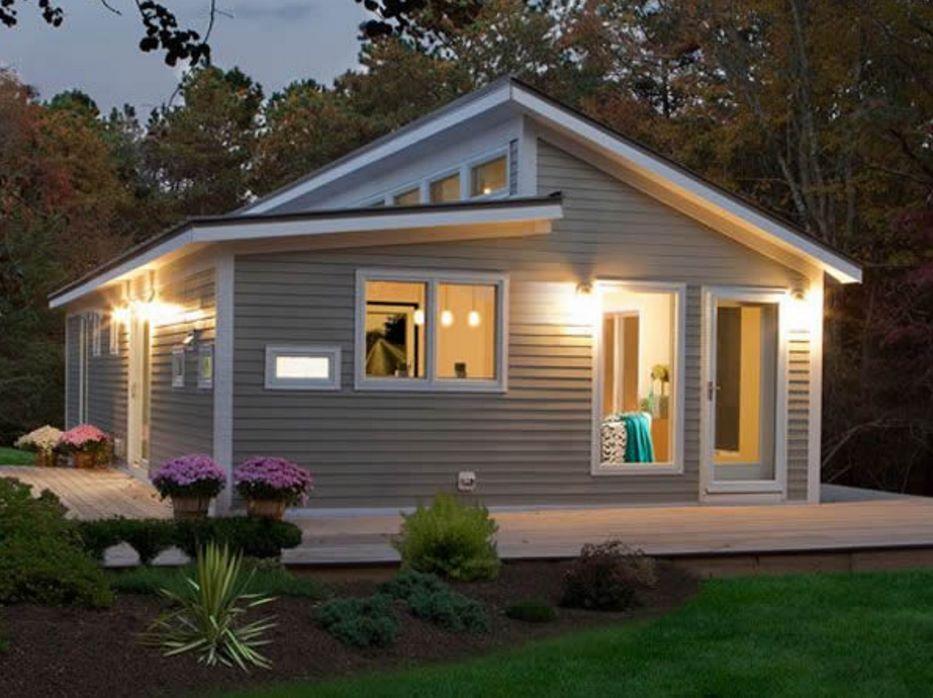 Fachadas de casas sencillas part 2 for Casas de madera pequenas