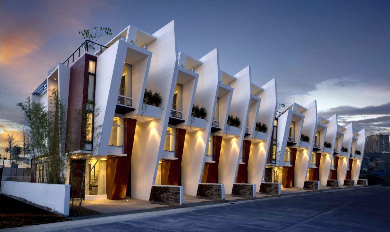 imagenes de fachadas de apartamentos pequeños modernos