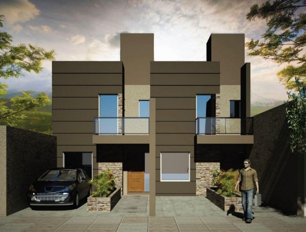Imagenes de fachadas de departamentos peque os modernos Pisos modernos para casas minimalistas
