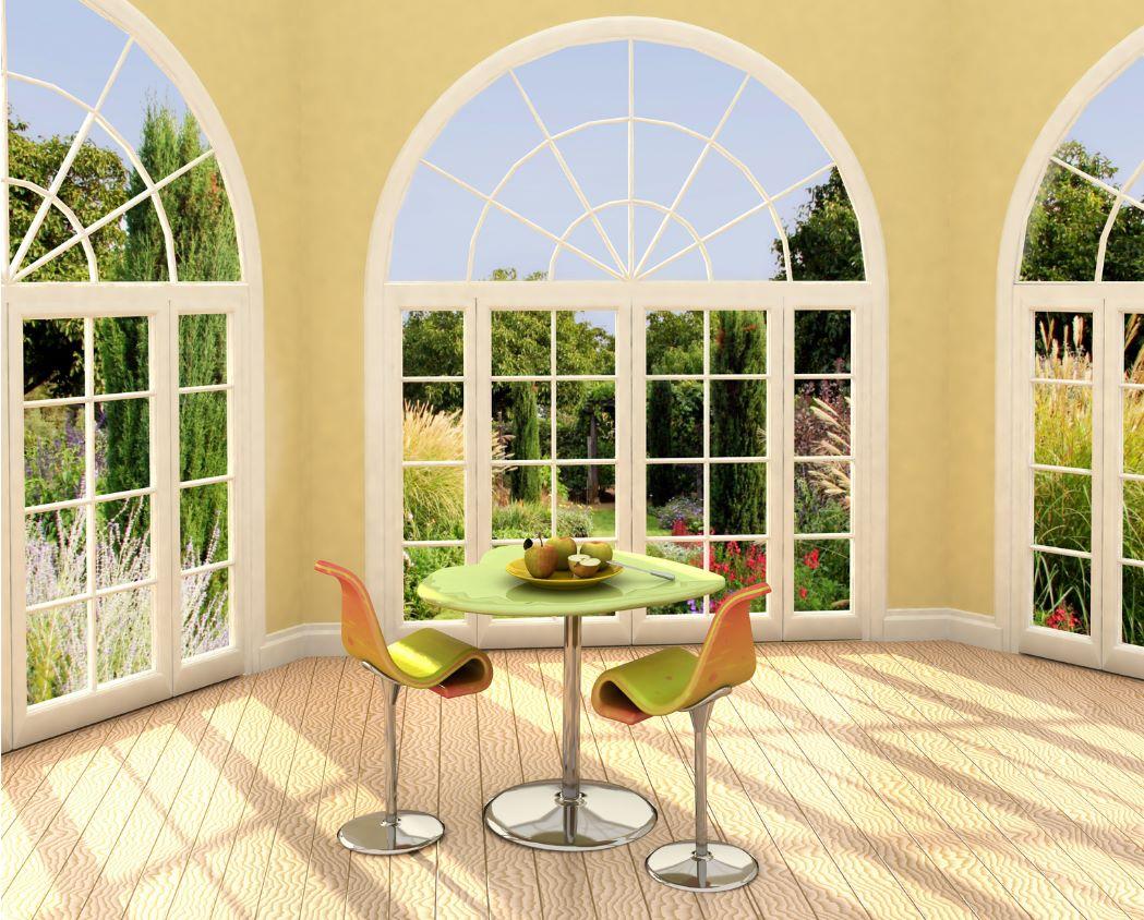 ventanas con arco