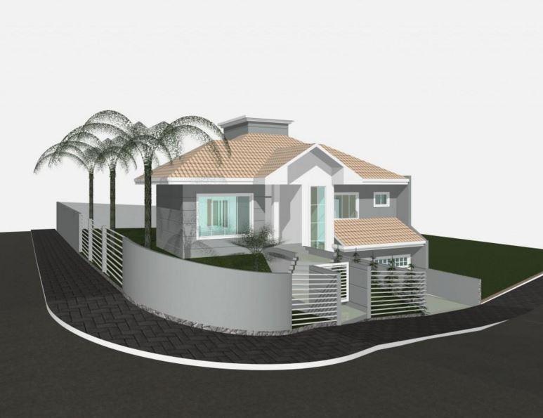 Casas esquineras modernas