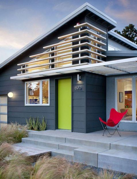 Colores de fachadas de casas modernas - Pinturas para fachadas de casas ...