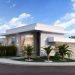Diseños de casas esquineras modernas