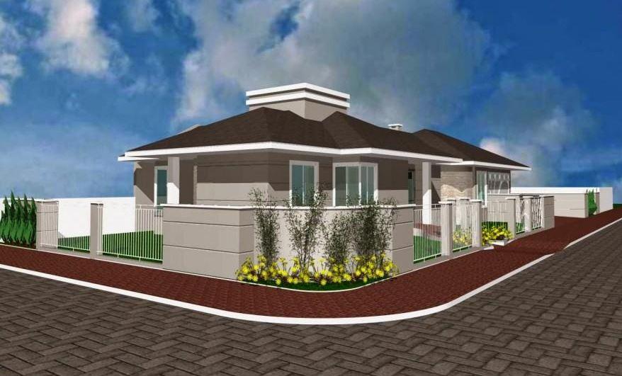 Diseños de casas esquineras