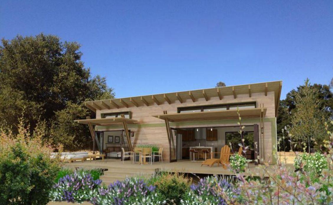Fotos de fachadas de casas peque as for Ambientes de una casa moderna
