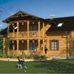 Fachada de casa rustica colonial