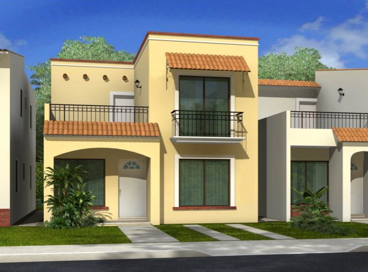 Fachadas modernas y bonitas for Fachadas bonitas y modernas