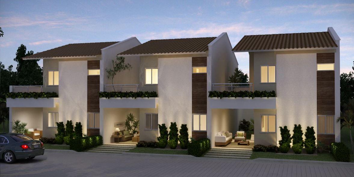Fachada de duplex for Fachadas de viviendas modernas