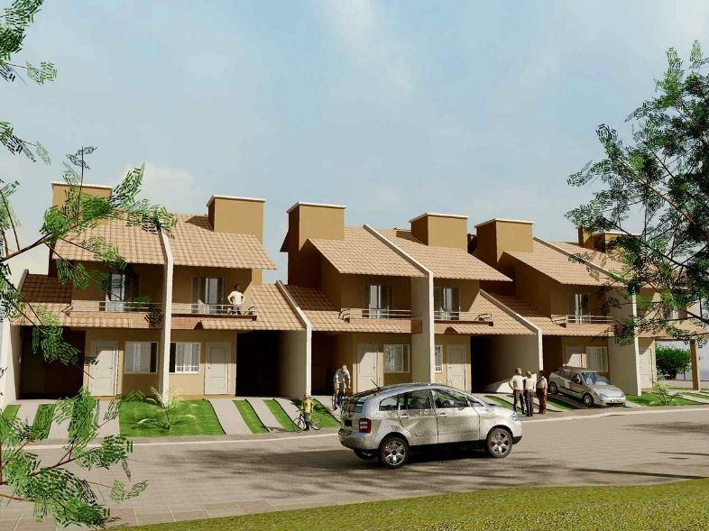Fachadas de casas de dos pisos adosadas modernas