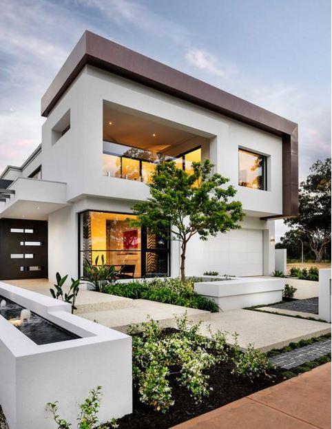 Fachadas de casas hermosas fotos