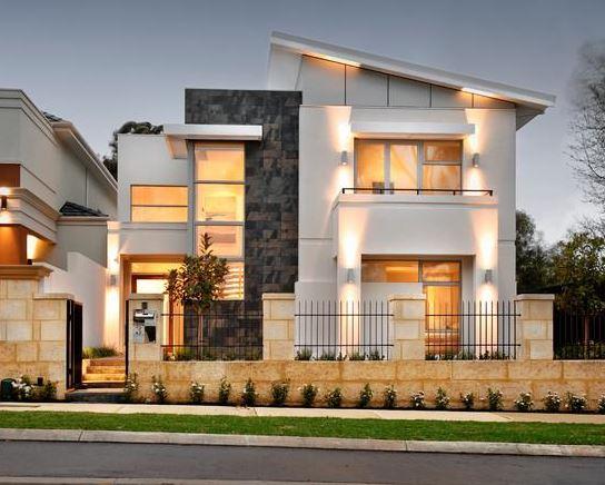 Fachadas de casas hermosas y modernas