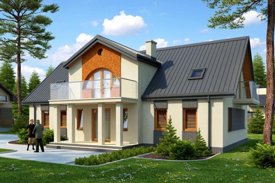 Fachadas de casas de 2 pisos for Fachadas de entradas de casas modernas