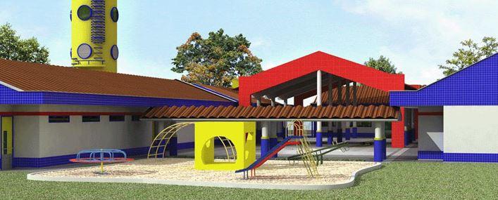 Fachadas de jardines infantiles