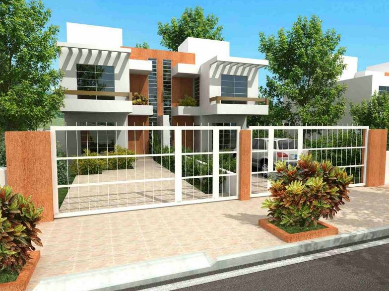 Imagenes de casas adosadas modernas